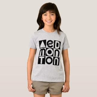 Camiseta T-shirt do quebra-cabeça de Edmonton
