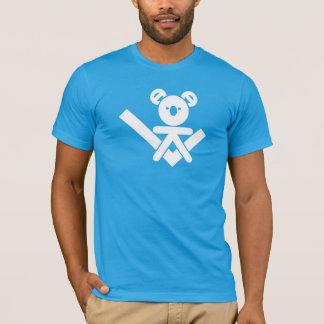Camiseta T-shirt do quebra-cabeça do Koala
