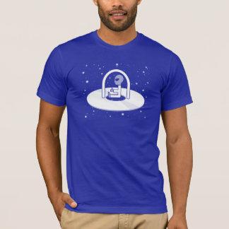 Camiseta T-shirt do quebra-cabeça do UFO