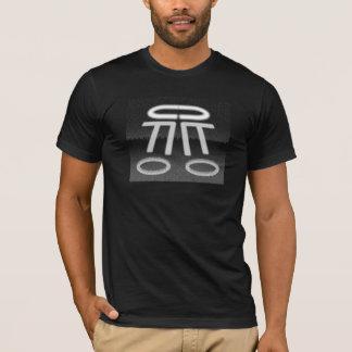 Camiseta T-shirt do quebra-cabeça dos círculos da colheita