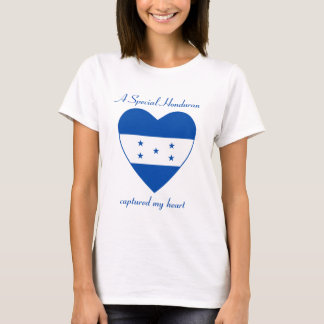 Camiseta T-shirt do querido da bandeira de Honduras