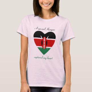 Camiseta T-shirt do querido da bandeira de Kenya