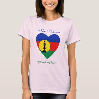 Camiseta T-shirt do querido da bandeira de Nova Caledônia