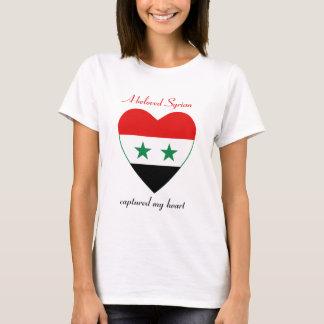 Camiseta T-shirt do querido da bandeira de Syria