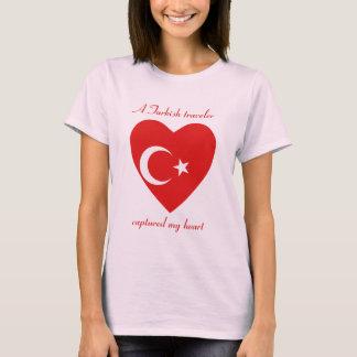 Camiseta T-shirt do querido da bandeira de Turquia