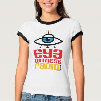 Camiseta T-shirt do rádio da testemunha do olho