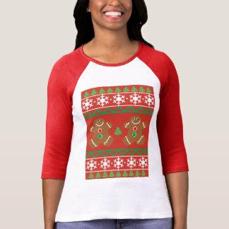 Camiseta T-shirt do Raglan das mulheres feias da camisola