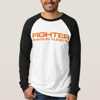 Camiseta T-shirt do Raglan do lutador de Shaolin