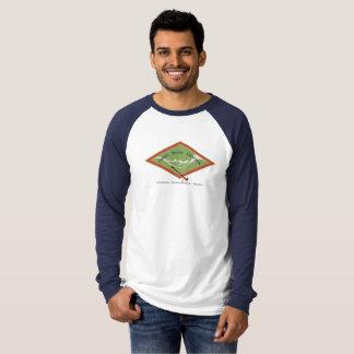 Camiseta T-shirt do Raglan dos homens de IPCAS