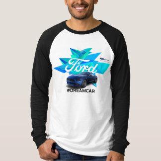Camiseta T-shirt do Raglan dos homens do Customizer do