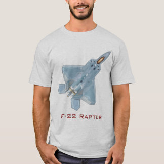Camiseta T-shirt do raptor F-22