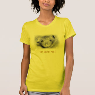 Camiseta T-shirt do rato de Lovin