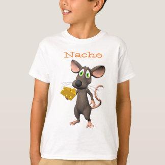 Camiseta T-shirt do rato de Toon do queijo do Nacho