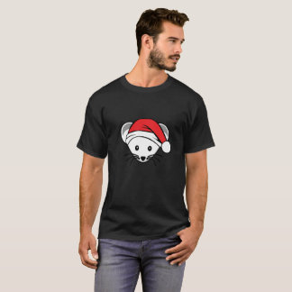 Camiseta T-shirt do rato do Natal