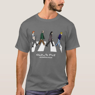 Camiseta T-shirt do Rd da abadia da nuvem cinco