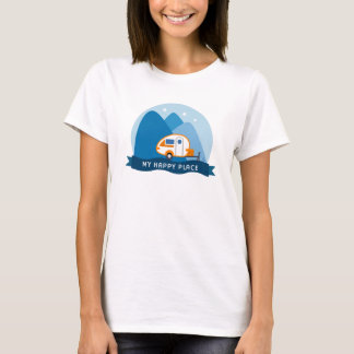 Camiseta T-shirt do reboque da aba