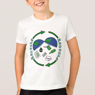 Camiseta T-shirt do reciclar
