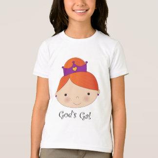 Camiseta T-shirt do Redhead do galão do deus