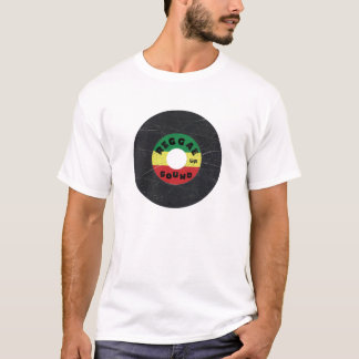 Camiseta t-shirt do registro da reggae 7-Inch