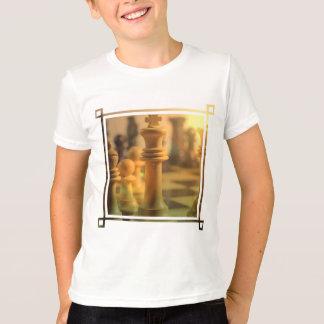 Camiseta T-shirt do rei Criança