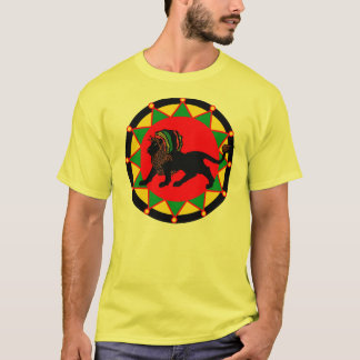 Camiseta T-shirt do rei de Jah