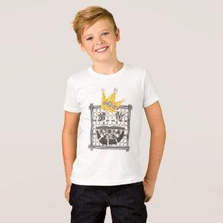 Camiseta T-shirt do rei Sudoku Miúdo