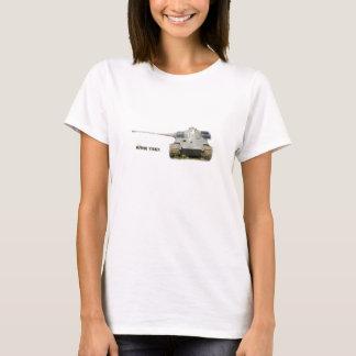 Camiseta T-shirt do rei Tigre, branco, para homens,