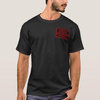 Camiseta T-shirt do remendo da memória de MIA KIA de