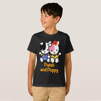 Camiseta T-shirt do remendo e da papoila HANES