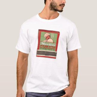 Camiseta T-shirt do restaurante de Martini