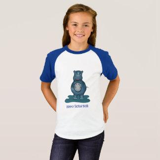 Camiseta T-shirt do risco do hipopótamo