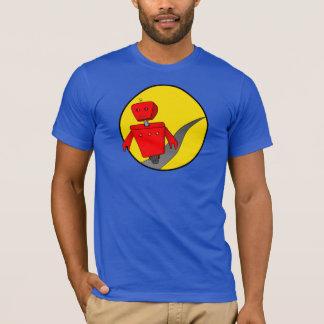 Camiseta T-shirt do robô do fugitivo dos homens