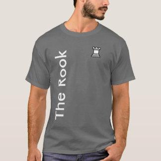 Camiseta T-shirt do Rook da xadrez