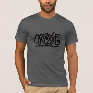 Camiseta T-shirt do roupa da Senhora Moxie Homens Cinzento