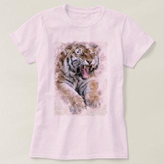 Camiseta T-shirt do rugido do tigre