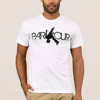 Camiseta T-shirt do sacudir de Parkour