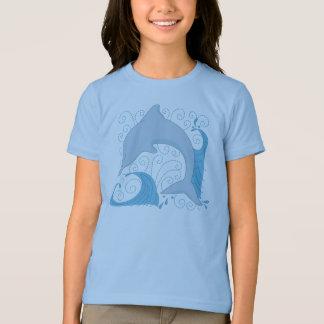 Camiseta T-shirt do sacudir do golfinho