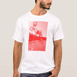 Camiseta T-shirt do salto do lago