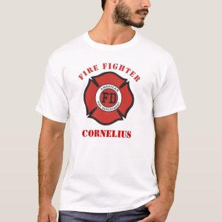 Camiseta T-shirt do sapador-bombeiro