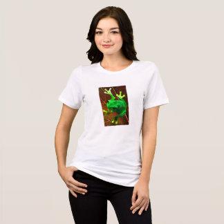 Camiseta T-shirt do sapo de árvore