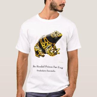 Camiseta T-shirt do sapo do dardo do veneno dos leucomelas