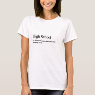 Camiseta T-shirt do segundo grau