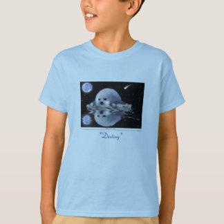 Camiseta T-shirt do SELO de HARPA da arte & da história do