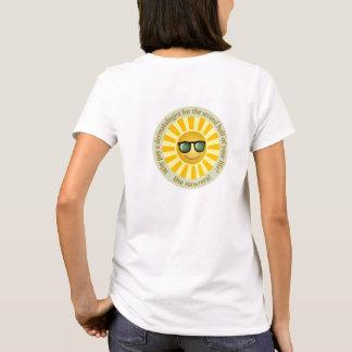 Camiseta T-shirt do sentido de Sun