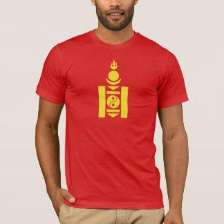 Camiseta T-shirt do símbolo de Mongolia Soyombo