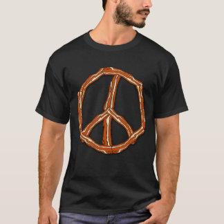 Camiseta T-shirt do sinal de paz do bacon, Hoodies,