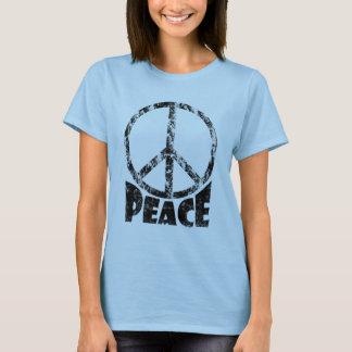 Camiseta T-shirt do sinal de paz para mulheres