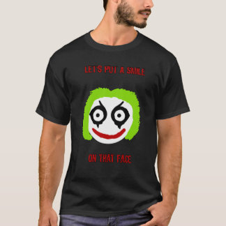 Camiseta T-shirt do smiley do palhaço