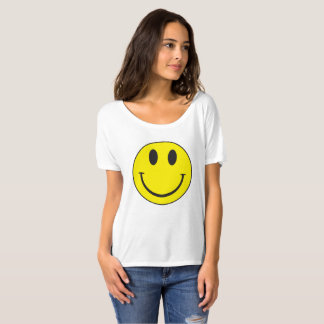 Camiseta T-shirt do smiley face do vintage