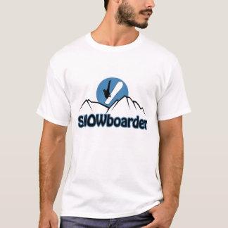 Camiseta T-shirt do Snowboarder